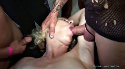 Housewife, German gangbang
