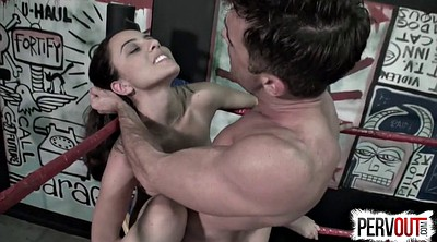 Wrestling, Tattoo, Femdom blowjob, Fighting