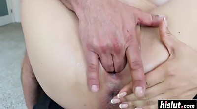 Hairy creampie, Toy anal