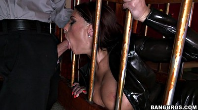 Leather, Cage, Ultra, Caged, Bar