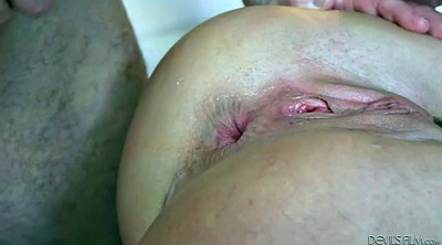 Gagging, Anal orgasm, Hairy milf, Hairy lick, Anal ride