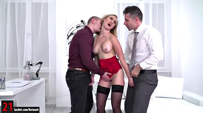 Office anal, Double suck, Anal office