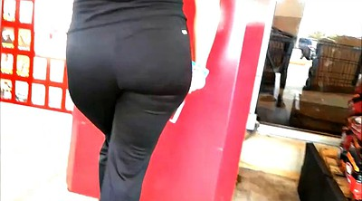 Upskirts, Thick, Big butt latina