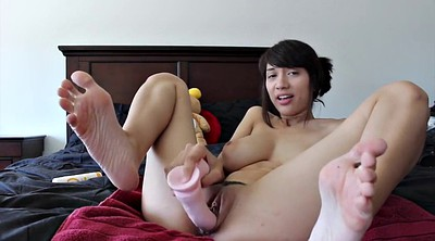 Cum on tits, Asian cam, Cum on hairy, Asian anal