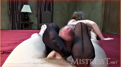 Feet, Pantyhose footjob, Mature handjob
