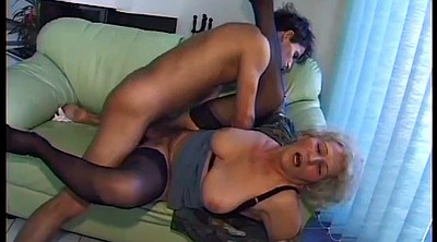 Horny mom, Hairy granny