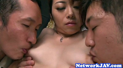Japanese group, Milf creampie, Japanese big tits creampie