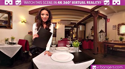 Vr porn, Latina threesome