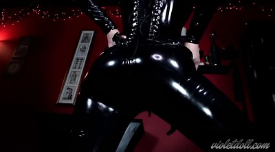 Suit, Latex masturbation