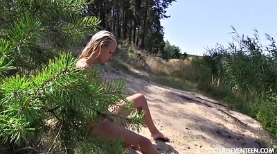 Sara, Beach masturbation