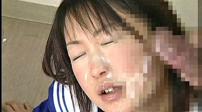 Japanese swallow, Japanese schoolgirl, Japanese cum