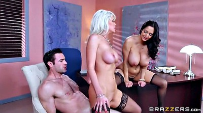 Brazzers, Work, At work, Riley, Brazzers anal, Big tits at work