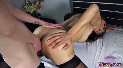 Shemale, Rimjob, Ass licking
