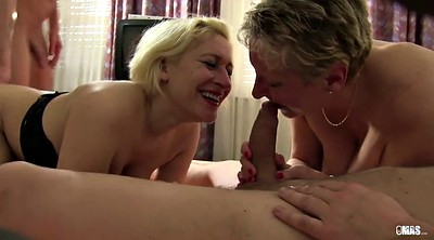 Granny, Eat, Mature orgy, German mature, German granny, Eating
