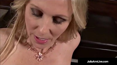 Julia ann, Talk, Dirty talk