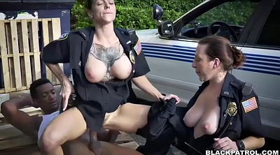 Chubby, Chubby ass, Cops, White ass, Ebony ass, Black blowjob
