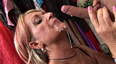 Pump, Change room, Mature blowjob, Changing, Change, Mature whore