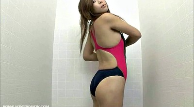Japanese, Swimsuit, Fitting room, Fitness room