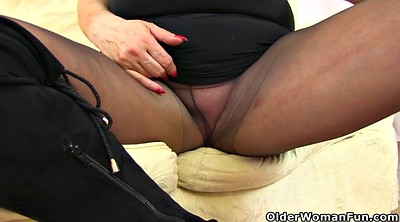 British cunt, Mature pantyhose, British granny