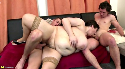 Mature, Grannies, Mother son, Sandwich, Busty mother, Big mother