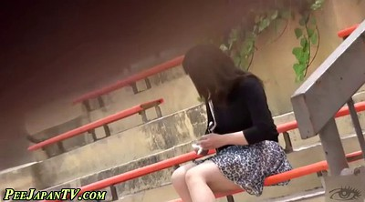 Pissing, Japanese beauty, Japanese public, Public piss