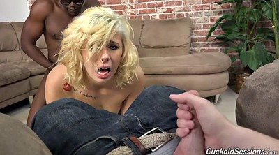 In front of, Interracial cuckold