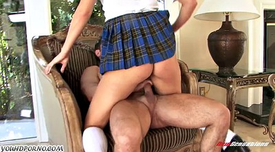 Black, Father, Punish, Teen schoolgirl
