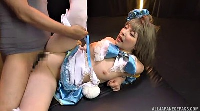 Japanese girl, Asian gangbang
