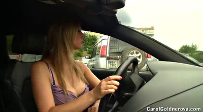 Car flash, Czech car, Pornstar compilation