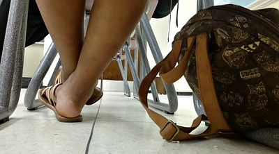 Shoes, Candid, Ebony feet