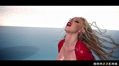 Nikki benz, Dress, Latex dress, Nikki benzs, Latex milf