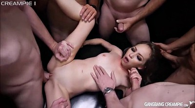 Gangbang creampie compilation, Compilation creampie, Skinny gangbang