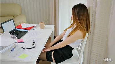 Office, Stockings solo, Stock
