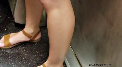 Candid, Toes, Nice ass