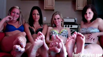 Foot worship, Made to