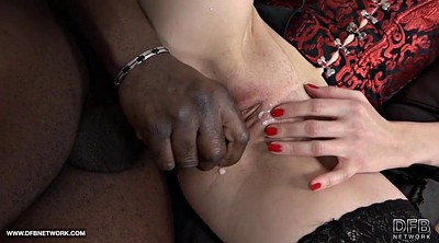 Milf anal, Scream, Interracial mature