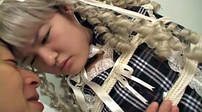 Japanese bondage, Asian bondage, Bound, Japanese schoolgirl, Japanese blonde, Subtitles