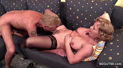 Mature casting, Old couple, German old, German mature