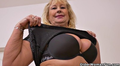 Grandma, Striptease, Black mature