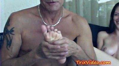 Cute, Old man, Man feet