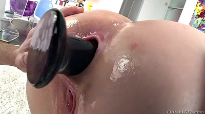 Big booty, Chubby redhead, Ass fingering, Ruined, Big booty anal