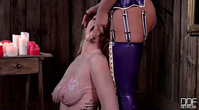 Mistress, Latex strapon, Anna polina