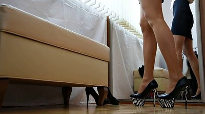 High heels, Stocking heels