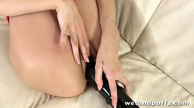 Pantyhose hardcore, Pantyhose tease, Monster dildo
