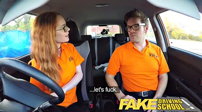 Hairy, Fake, Drive, Hairy creampie, Fake school, Surprise creampie