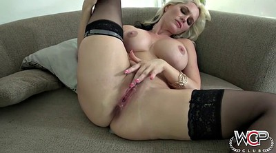 Chubby, White blonde, Interracial creampie, Chubby white, Black chubby