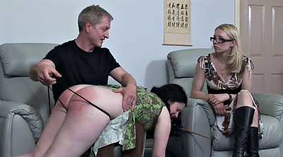 Spanking, Aunt, Plump, Uncle, Spanking girl