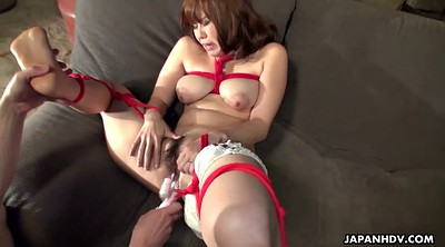 Tied, Japanese bondage, Japanese big tits, Asian sex, Masturbating, Japanese tied