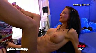 Lesbian strap on, Huge strapon