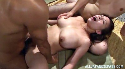 Asian, Busty office, Asian office, Asian gangbang